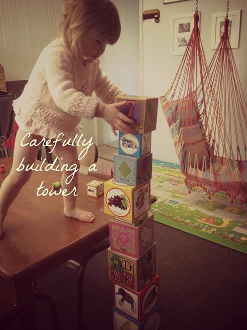 Building towers ~ peaceful Parents, Confident Kids