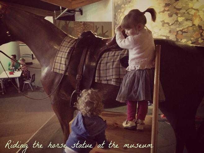Museum horse