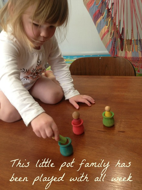 Pot family colour matching ~ Peaceful Parents, Confident Kids