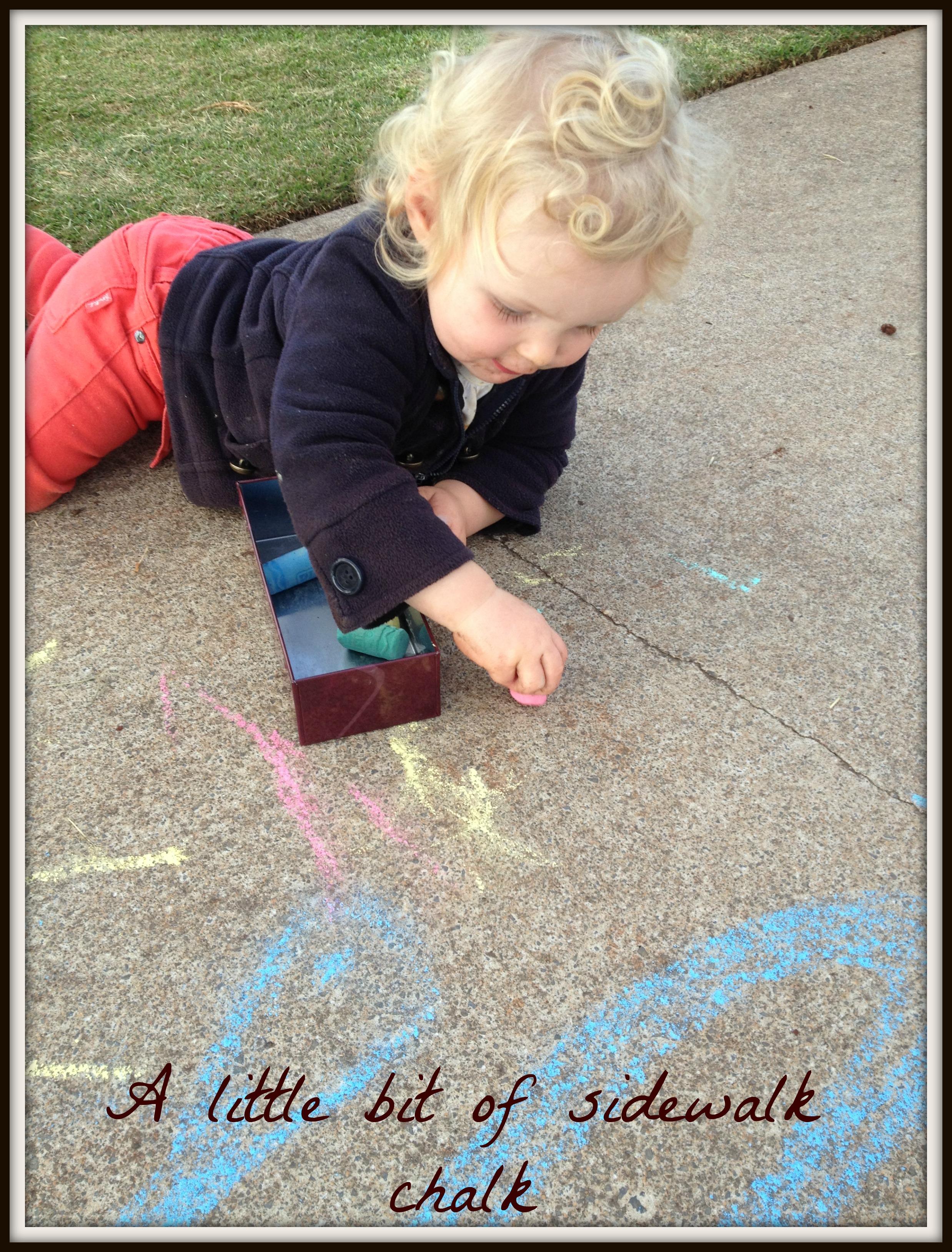 4 sidewalk chalk