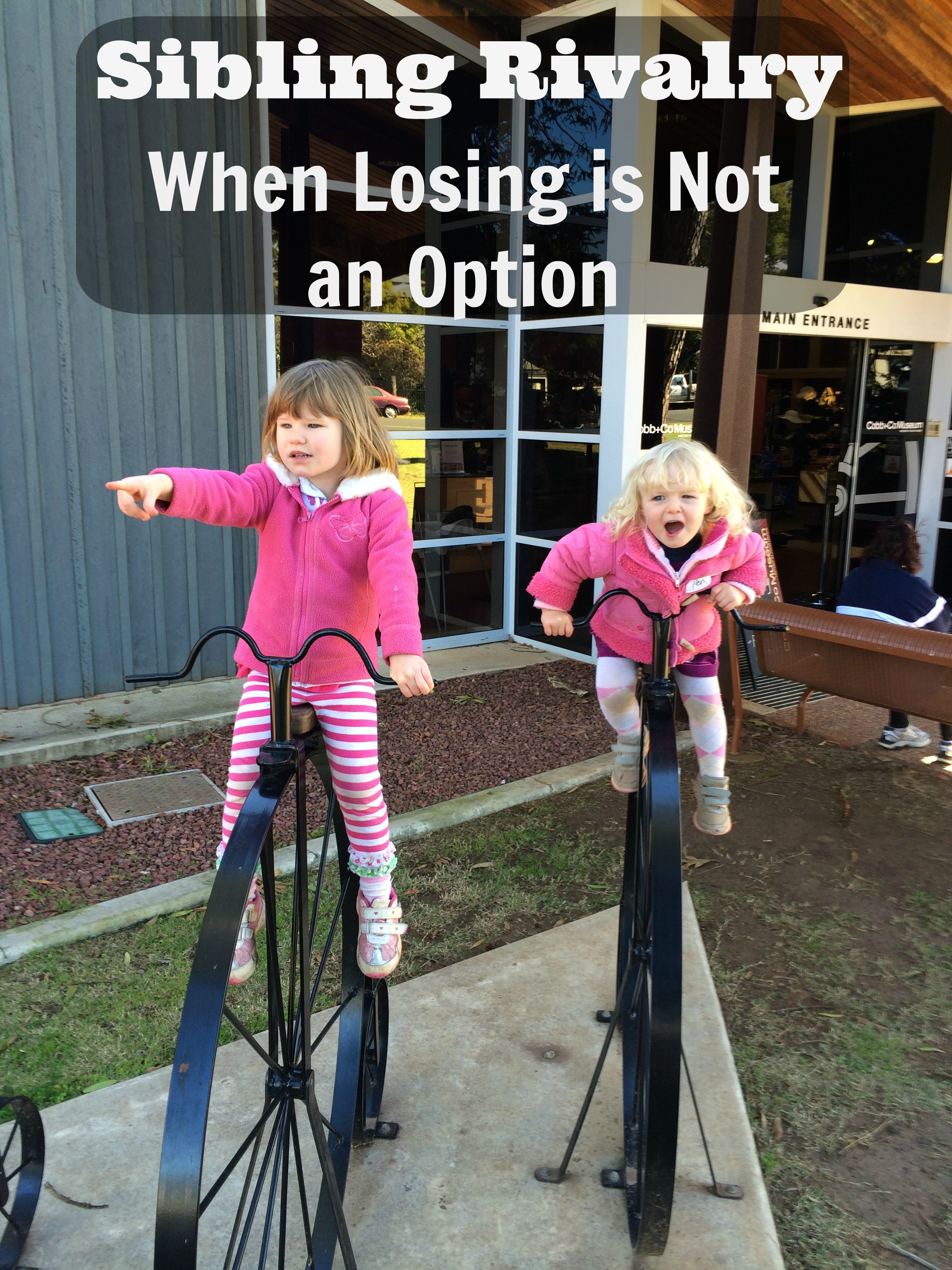 Sibling Rivalry: When Losing is Not an Option ~ peaceful Parents, Confident Kids