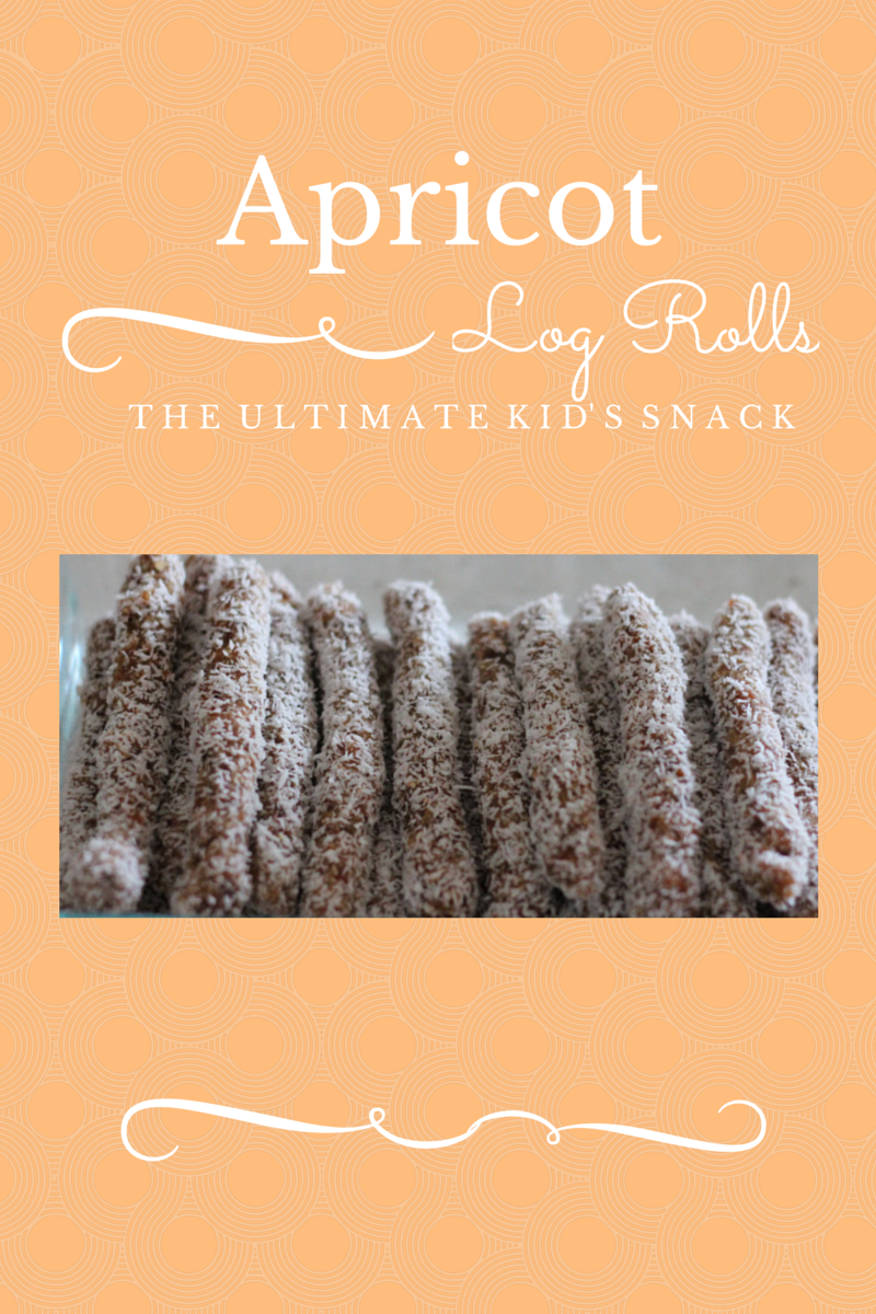 Apricot Log Rolls ~ Peaceful Parents, Confident Kids
