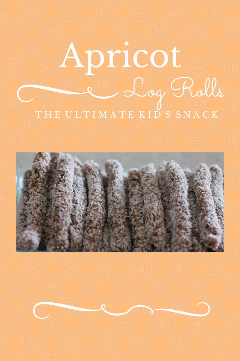 Apricot Log Rolls ~ Peaceful Parents, Confident Kids