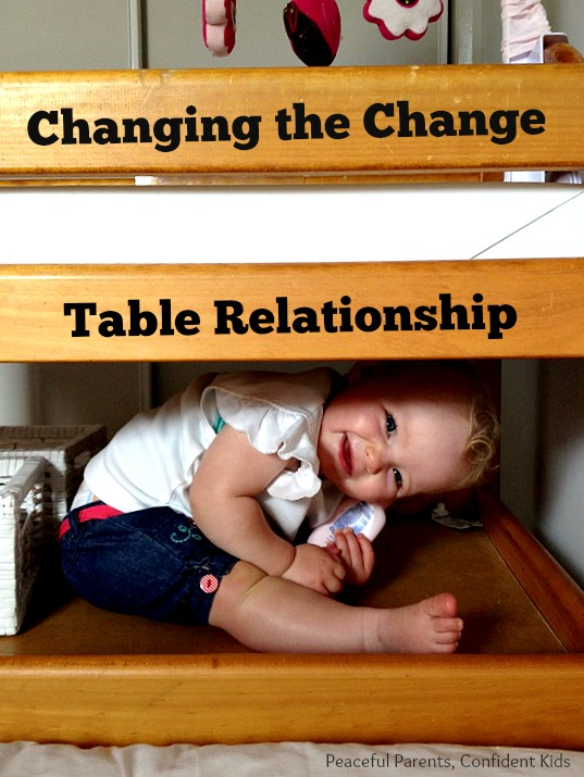 Changing the Change Table relationship