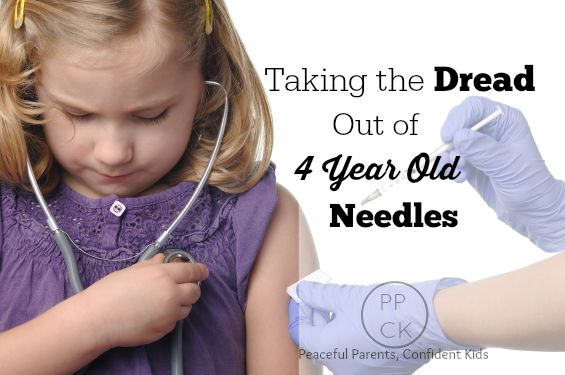 Taking the Dread out of 4 Year Old Needles