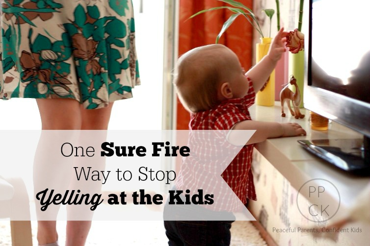 One Sure Fire way to Reduce the Yelling ~ Peaceful Parents, Confident Kids