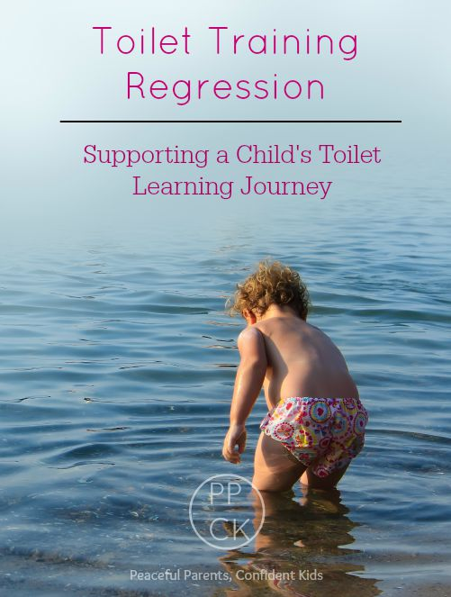 Toilet Training Regression: Supporting a Child's Toilet learning Journey